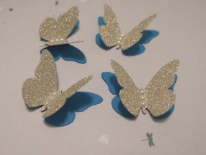 Image Is Loading 20x 3D Paper Butterflies Wedding Birthday Table Decorations