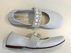 the best attitude 2af7a 3f076 Dettagli su Ballerine SIMONETTA mis.30 31 34 originali scarpe bambina nuove  shoes 4066