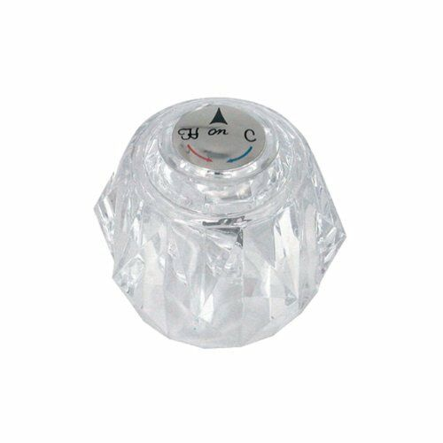 Danco Knob Handle In Clear For Delta Tub And Shower Faucets 88439 Ebay