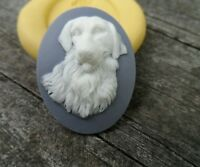 Dog/lab Or Retriever Cameo Silicone Mold Mould Polymer Clay Resin Food Wax