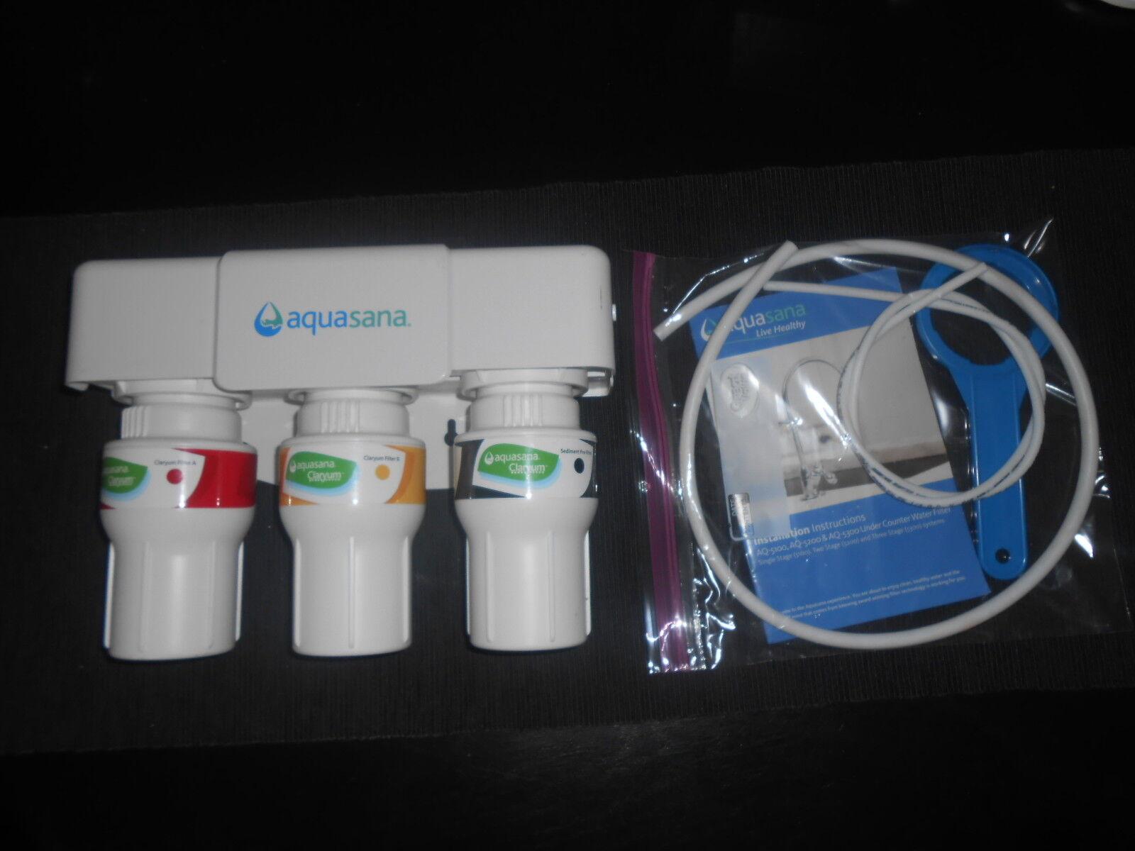 Aquasana 3-Stage sous plan d'eau potable système de filtre-Osmose