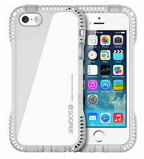 iPhone SE 5s 5 Case Clear Ultra Slim Shock Proof Heavy Duty Silicone Cases Cover
