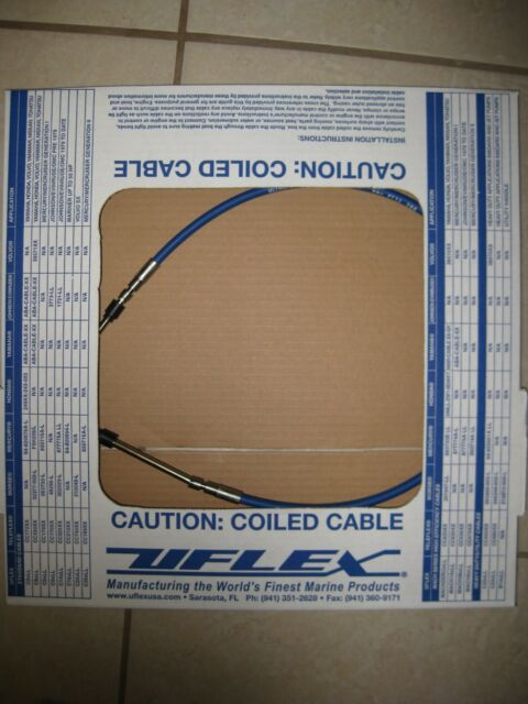 CONTROL CABLE INBOARD STERNDRIVE OUTBOARD 33C STYLE MACHZEROX19 19FT UNIVERSAL