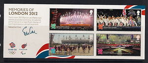 GB stamps - 2012 Memories of London 2012 Olympic Games Minisheet, MS3406, MNH