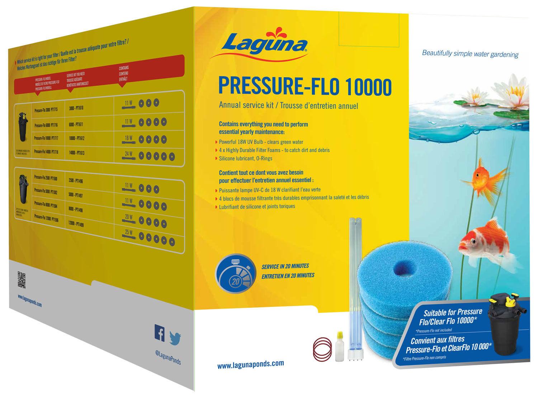 KIT ServiceWartungsset per LAGUNA PRESSURE FLO 3.000