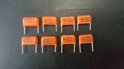 NOS Vishay MKT Orange Drop 0.01uF 10000pF 10K 400V  Capacitor 7 x PIECES