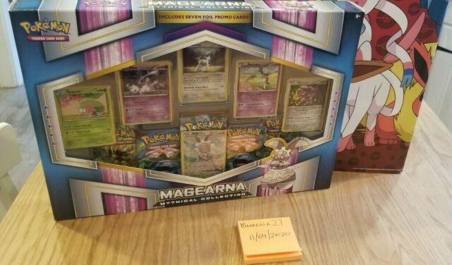 Pokemon MYTHICAL Sammlung: magearna Box Set NEU! Factory sealed! fast Shipp!