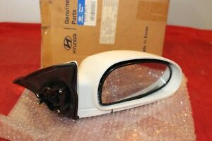 99-05 Hyundai Outside Mirror Assembly Right Side #87606-38510 Genuine