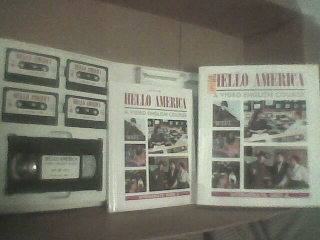 HELLO AMERICA Unit 6 - ESL Learn ENGLISH Course HELLO AMERICA  6 VHS Tapes +