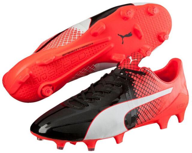 b587c77f3 PUMA evoSPEED 1.5 FG Mens Football BOOTS Black White Red 46 for sale ...