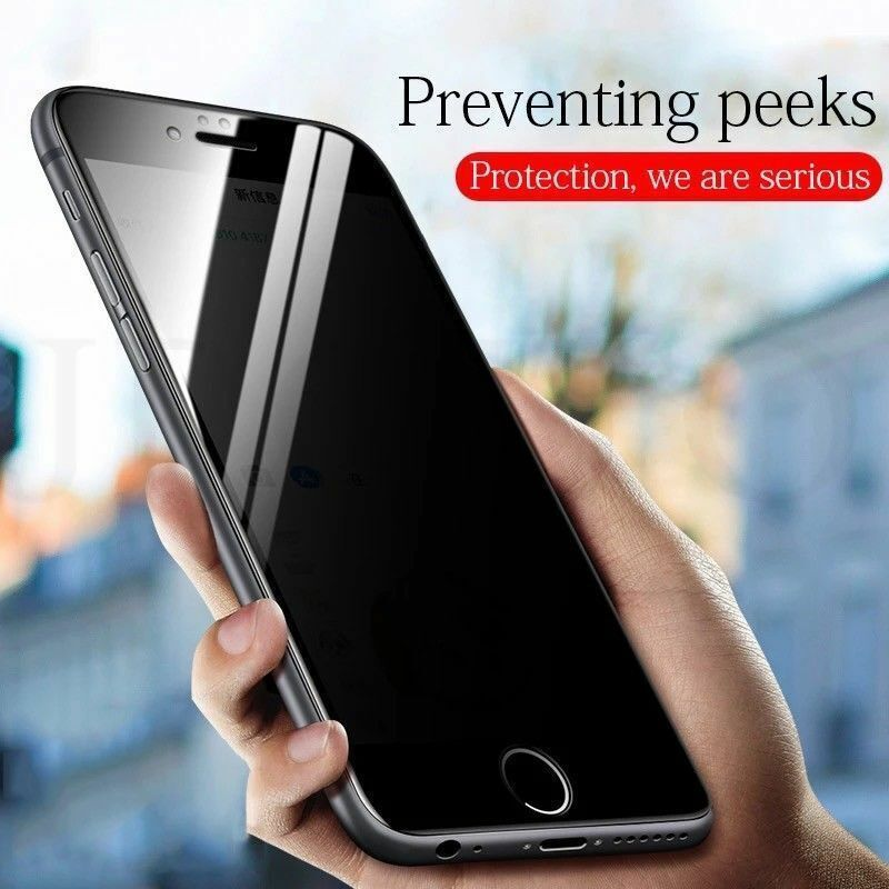 upscreen Spy Shield Clear Privacy Screen Protector for Crosscall Action X3 self-Adhesive Privacy Protection Multitouch Optimized