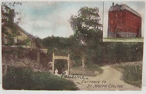 USA-Postcard-Postcard-Ak-Entrance-to-St-Joseph-College-1908-A2308