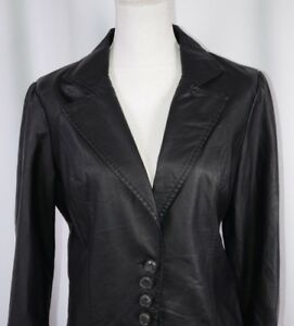 limited style latest selection of 2019 60% discount Details about Bagatelle Women's Faux Leather Jacket Size 10 Black Casual  Boho Cute