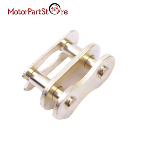 ATV QUAD BIKE DRIVE CHAIN SPLIT KING LINK PITBIKE Gold 420 FOR PITCH PIT DIRT