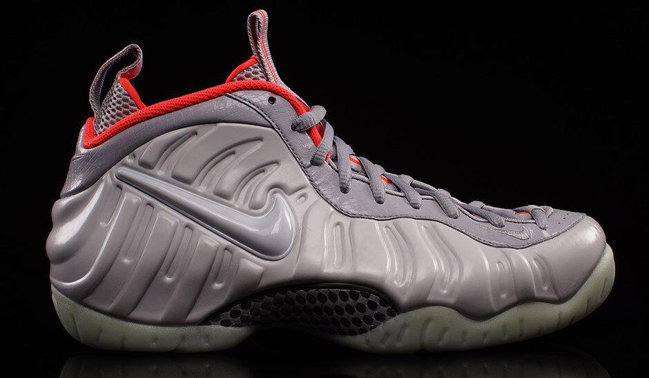 Nike Air Foamposite Yeezy Pro Platinum Size 7.5. 616750-003 jordan penny