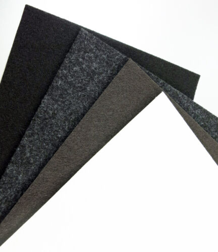 strong Felt board 150x210mm brown white black grey 2-10mm thick