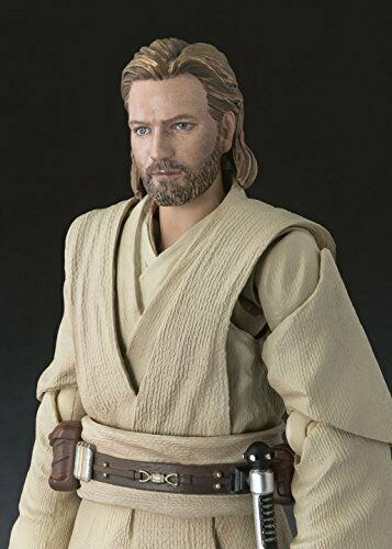Star Wars Bandai Japan Figuarts Obi-Wan Kenobi ATTACK OF THE CLONES SH S.H