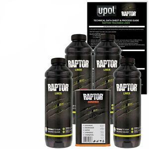 Best Spray In Bedliner >> Details About U Pol Raptor Black Urethane Spray On Truck Bed Liner Kit