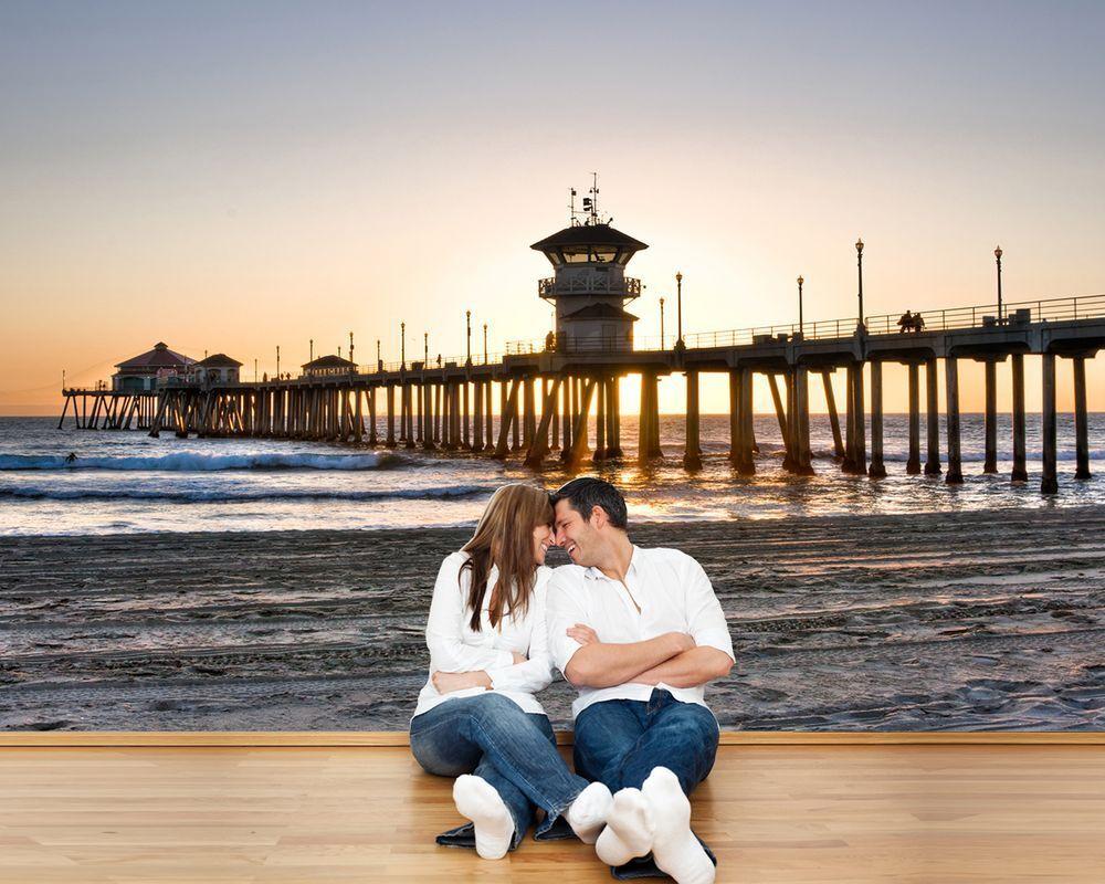 Fototapete - Huntington Beach Pier