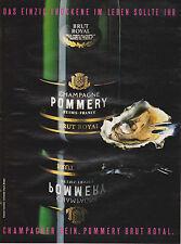 POMMERY - CHAMPAGNE CHAMPAGNER PUBLICITE PRESSE ADVERT WERBUNG 1985 ALLEMAGNE