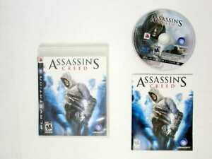 Assassin-039-s-Creed-game-for-Sony-Playstation-3-PS3-Complete
