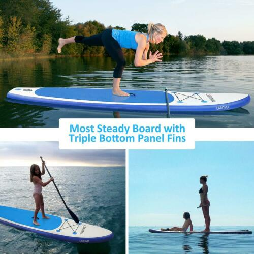 SUP Board Stand Up Paddling Surfboard aufblasbar Paddel ISUP Paddle 320 cm Lager