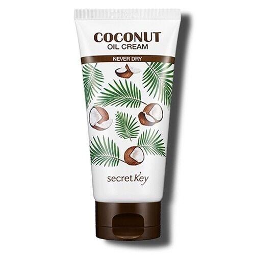 SECRET KEY Coconut Oil Cream 150g Never Dry for Body & Face