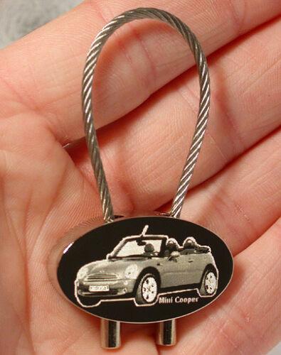 Mini Cooper Schlüsselanhänger verschied Modelle Gravur Classic Clubman usw.