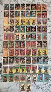 Vintage COMPLETE SET 1985 Series 1 Garbage Pail Kids GPK MINT Adam Bomb Etc.
