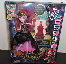 2012 Monster High Haunt The Casbah Draculaura 13 Wishes Y7703 NRFB 6 Mattel