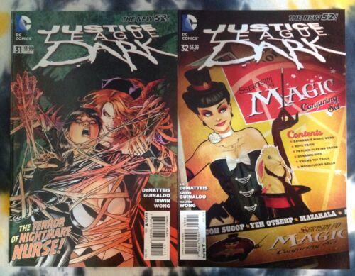DC Comics New 52 JUSTICE LEAGUE DARK #31 /& 32 Bombshell Variant