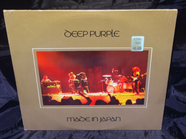 Deep Purple Mage In Japan SEALED USA 1973? 2 VINYL LP SET W/ NO BARCODE