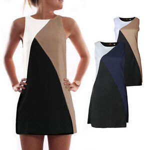 damen minikleid sommer strandkleid lang shirt tunika. Black Bedroom Furniture Sets. Home Design Ideas