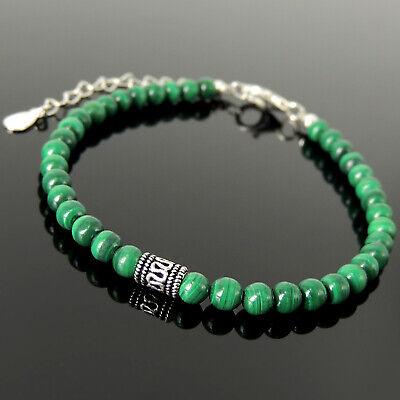 Men/'s Vintage Raw Emerald ~ Golden Pyrite ~ Genuine Untreated Gemstone Energy Bracelet  4mm