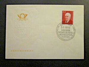 Germany-DDR-SC-423-FDC-Unaddressed-Cacheted-Z4595