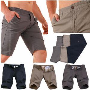 Bermuda Uomo Pantalone Corto Shorts Chino Pantaloncini Eleganti Cotone FANTASIA