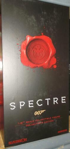 BLACK BOX james bond 007 Spectre Figure complet gris 1:6