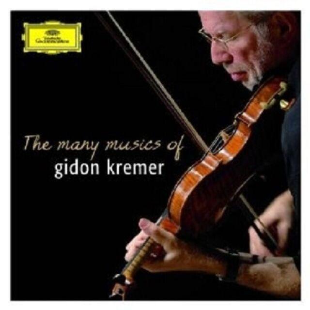 GIDON KREMER - THE MANY MUSICS OF GIDON KREMER 2 CD NEU