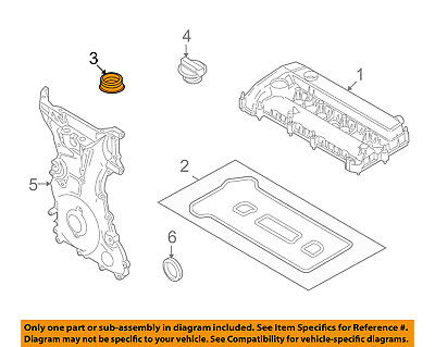 FORD OEM-Valve Cover Gasket DL3Z6584C