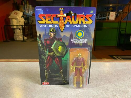 "2019 Zica Toys Sectaurs guerriers de Symbion garde royale 4/"" inch figure Comme neuf on Card"