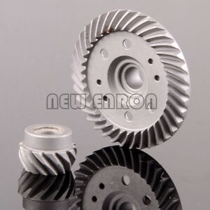 SET Steel Stock Gear 37T//13T FOR 4WD 4X4 Traxxas differential Ring Pinion Gear