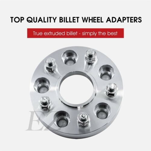 """2 Wheel Adapters 5 Lug 5x100 To 5x100 Spacer for Toyota Scion Hub Centric New 1/"""""""