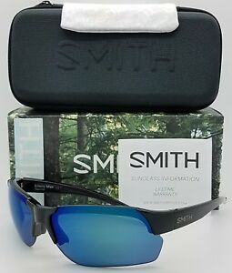 dce884e85c NEW Smith Envoy Max sunglasses Black Blue Mirror ChromaPop Polarized ...