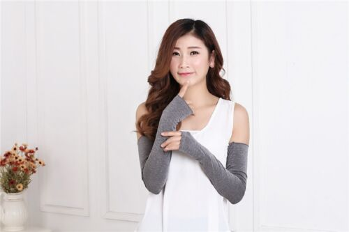 Nice Candy Newfangled Mittens Women Sale Hot Cotton Fingerless Long Gloves Arm