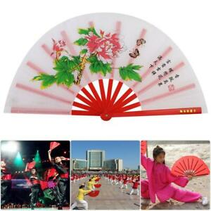 Bamboo-Chinese-Kung-Fu-Martial-Arts-Stage-Practice-Performance-Fan-Tai-Chi-Fan