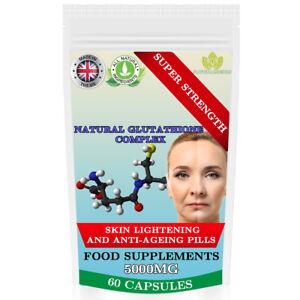 Glutathione-Complex-5000mg-Super-Strength-Skin-Whitening-Anti-Ageing-UK