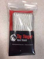 The Original Tig Finger Weld Monger Welding Glove Heat Shield Cover Free Ship