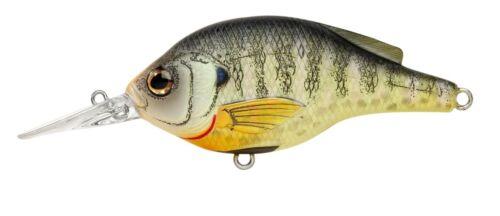 Live Target Crankbait BG70S100 Sunfish Bluegill Matte 1//2oz Shallow Dive