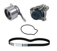 Honda Civic 1.6-liter D16y7 Timing Belt Kit & Water Pump (gmb & Continental) on sale