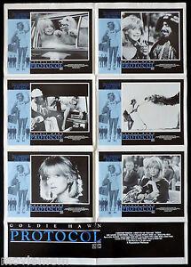PROTOCOL-Original-Australian-Photo-Sheet-Movie-poster-Goldie-Hawn